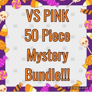 ALL NWT 50 Piece VS PINK Mystery Bundle